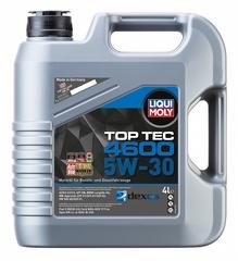 3763 LiquiMoly НС-синт.мот.масло Top Tec 4600 5W-30 SN/CF; C3 (4л)