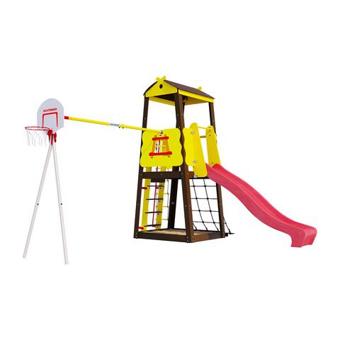 Детский спортивный комплекс для дачи ROMANA Избушка (Без качели)