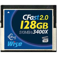 Карта памяти Wise 128GB CFast 2.0 510MB/s VPG-130