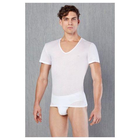 Мужская футболка белая Doreanse 2530