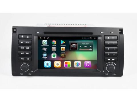 Штатная магнитола для BMW 5 E39/X5 E53 Android 8.1 2/16GB модель GF-7901A
