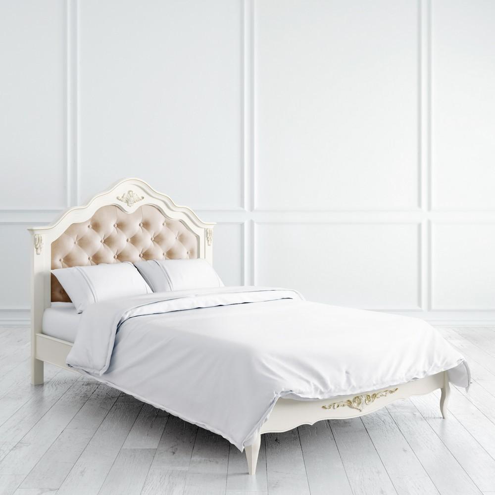 Кровать с мягким изголовьем 120*200