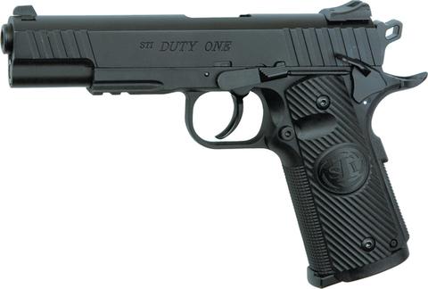Пистолет пневматический ASG STI DUTY ONE (Colt 1911) Blowback  металл/черный (артикул 16732)