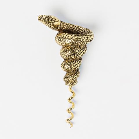 Штопор Mamba, золотой