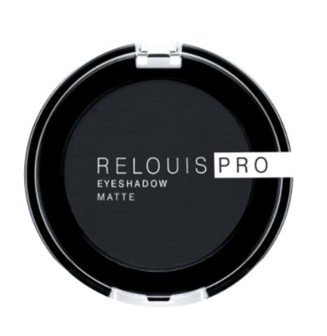 RELOUIS Тени Pro Eyeshadow Matte тон 17, carbon