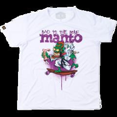Футболка Manto Bad To The Bone белая
