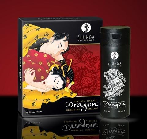 Интимный мужской крем Shunga Дракон