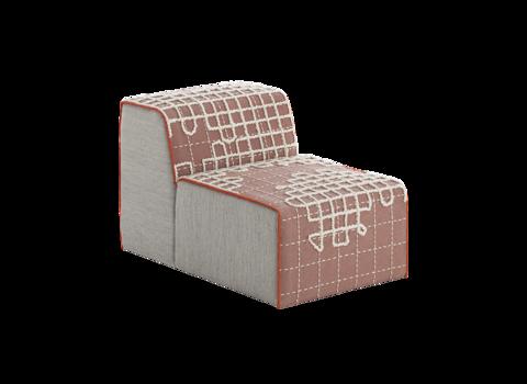 Кресло Bandas A Pink
