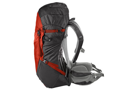 Картинка рюкзак туристический Thule Capstone 50L Тёмно-Серый/Оранжевый - 4