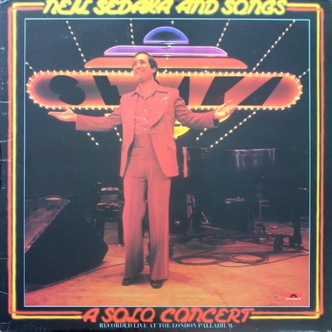 Neil Sedaka / A Solo Concert - Recorded Live At The London Palladium (2LP)