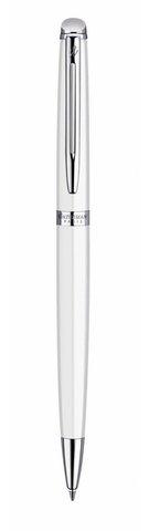 Шариковая ручка Waterman Hemisphere, цвет: White CT, , стержень: Mblue