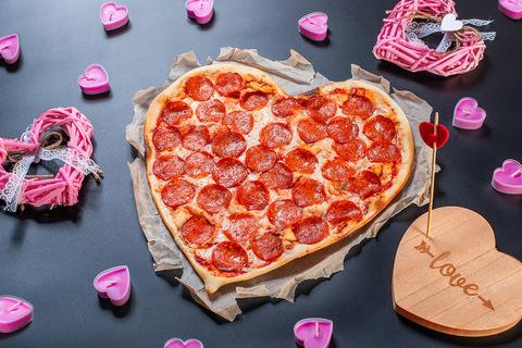 Пицца-сердце