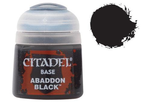 Citadel Base: Abbaddon Black