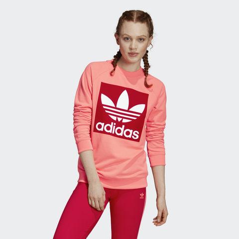 Свитшот женский adidas ORIGINALS TREFOIL CREW