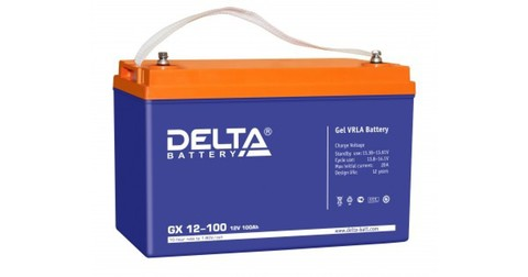 Аккумулятор тяговый DELTA GX 12-100 Xpert