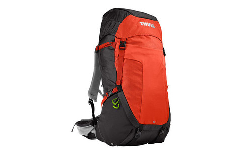 Картинка рюкзак туристический Thule Capstone 50L Тёмно-Серый/Оранжевый - 1