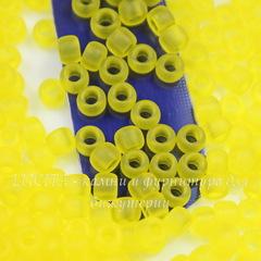 0012F Бисер японский TOHO 8/0, матовый лимон