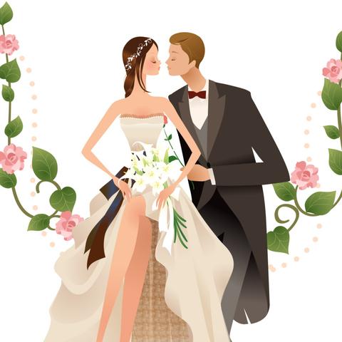 Печать на вафельной бумаге, Свадьба 9