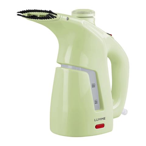 Ручной отпариватель для одежды LUMME LU-4001 зеленый нефрит