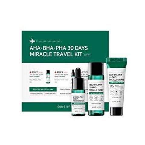 Набор для проблемной кожи с кислотами SOME BY MI AHA.BHA.PHA 30 Days Miracle Travel Kit