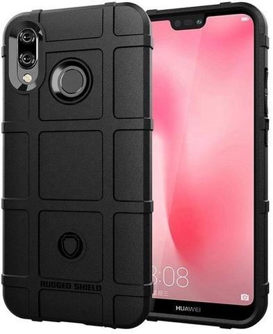 Чехол Huawei Nova 3E (P20 Lite 2018) цвет Black (черный), серия Armor, Caseport