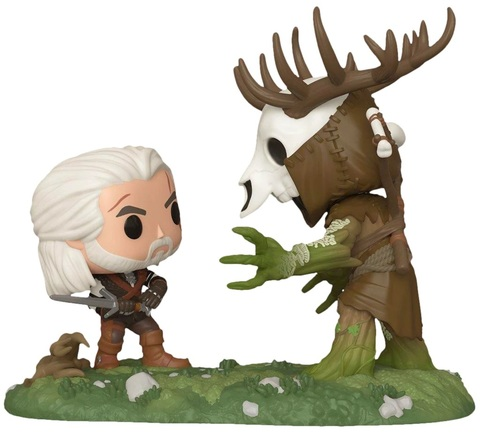 Фигурка Funko POP! Vinyl: Moment: Witcher: Geralt vs Leshen (Exc) 46373