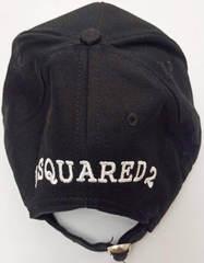 Стильная бейсболка мужская Dsquared2 Supset on the Beach 65656265-Black.