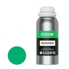 Фотография — Фотополимер ESUN Standard зеленый (0,5 кг)