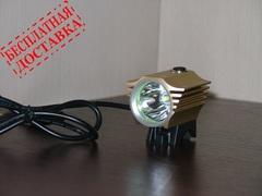 Велосипедная фара SingFire SF828 1800 люмен (комплект)