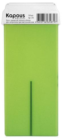 Жирорастворимый воск с ароматом Зеленого яблока, 100 мл в картридже Kapous