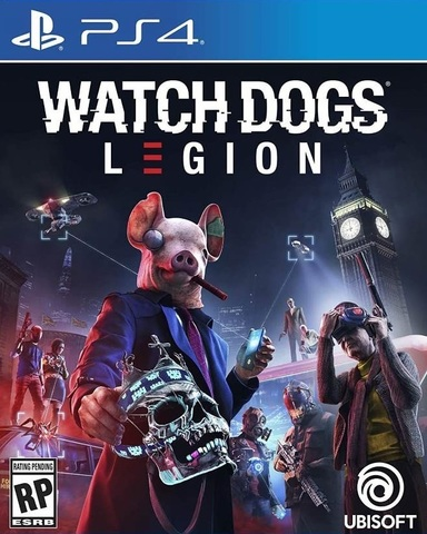 Watch Dogs: Legion (PS4, русская версия)