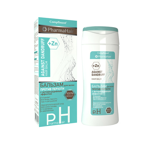 Compliment PharmaHair Бальзам против перхоти с антирецидивным эффектом