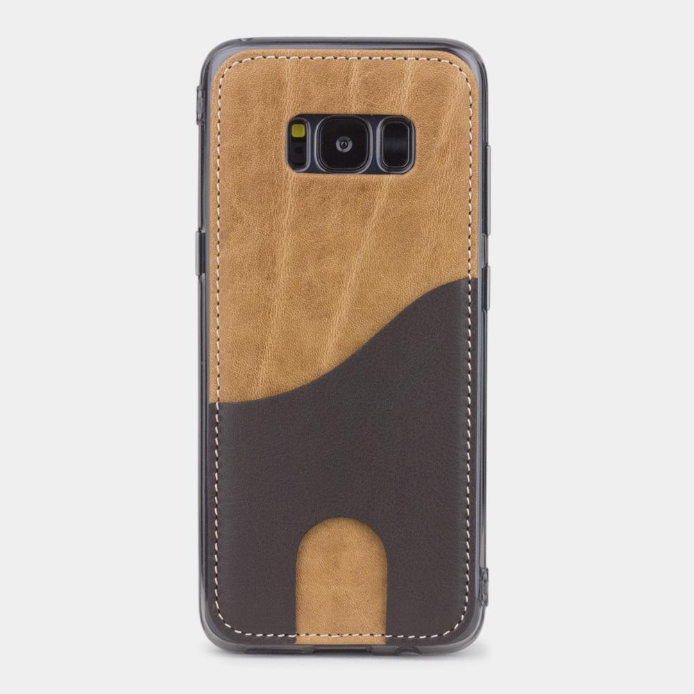 Чехол-накладка Andre для Samsung S8 из натуральной кожи теленка, цвета винтаж