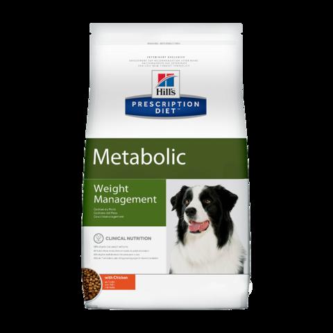 Hill's Prescription Diet Metabolic Сухой диетический корм для собак при коррекции веса