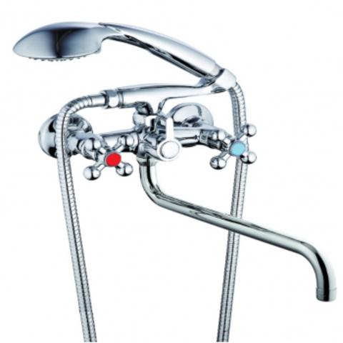 2325 VIKO ванна крест /кер.перекл. излив -35см