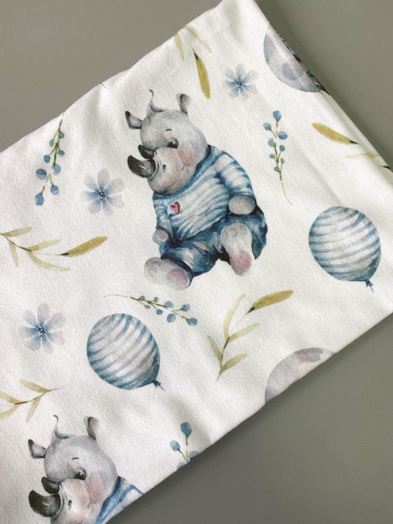 Фланелевая пеленка «Hippo»