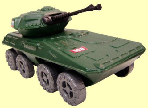 Танк детский бронетранспортер С-38-Ф