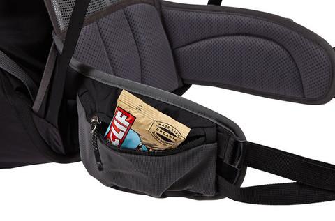 Картинка рюкзак туристический Thule Capstone 50L Тёмно-Серый/Оранжевый - 6
