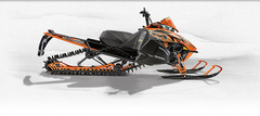 Снегоход Arctic cat M 8000 162 Sno Pro orange фото