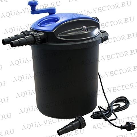 Фильтр для пруда BOYU EFU-10000A с УФ лампой на 10 кубов самоотжимной.