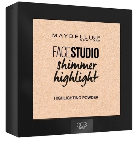 Maybelline Пудра-хайлайтер FaceStudio Setting Shimmer highight  №003 Rose