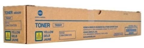 Оригинальный тонер-картридж Konica Minolta TN-324Y A8DA250 желтый