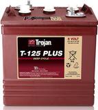 Тяговый аккумулятор Trojan T125+ ( 6V 240Ah / 6В 240Ач ) - фотография