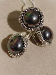 Бублик (кольцо из серебра)