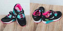 Обувь дет. № 7 Детские Кроссовки SPORT ATR Розово-Черные