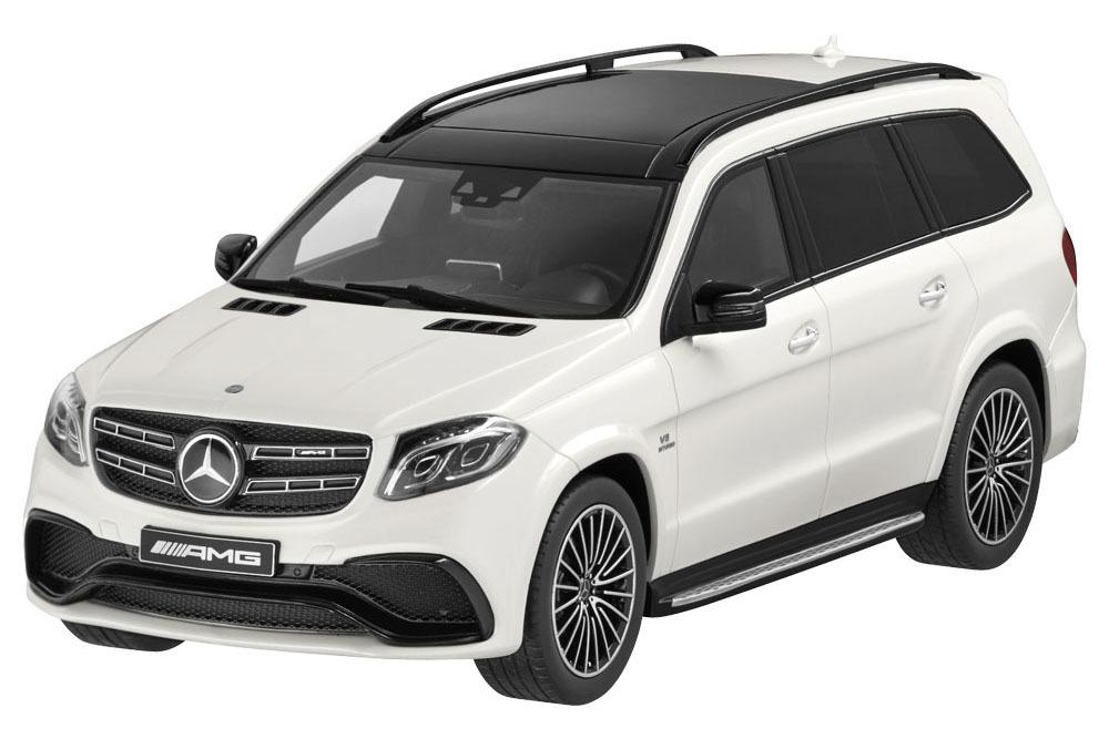 Коллекционная модель Mercedes-Benz GLS 63 AMG 2017 White