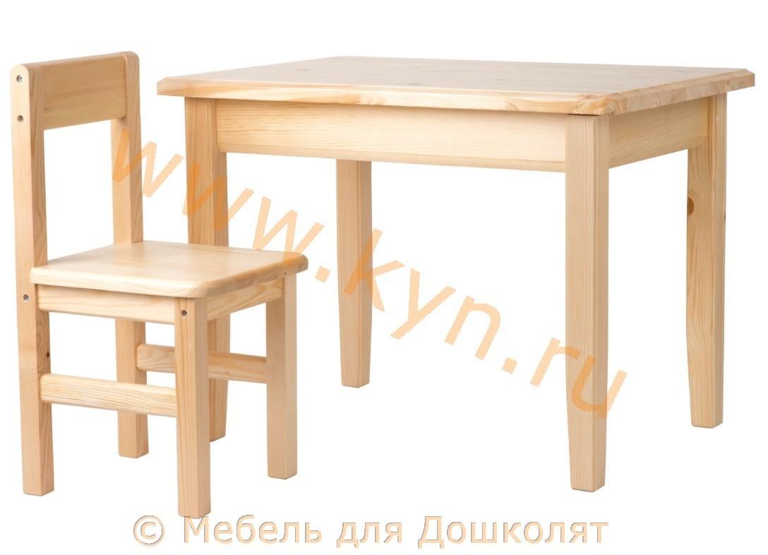 Стол со стульчиком 2-4 фото2