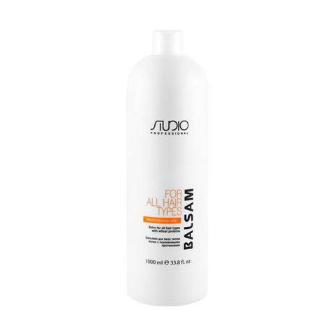 Kapous, Бальзам для всех типов волос с пшеничными протеинами