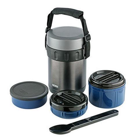 Уценка! Термос для еды многофункциональный Thermos JBG-2000 (2 литра), синий