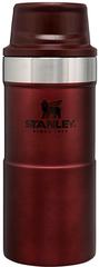 Термокружка Stanley Classic 0.35L One hand 2.0 Бордовая